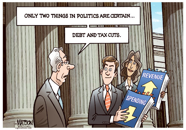 Debt and tax cuts