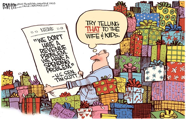 Spending problem