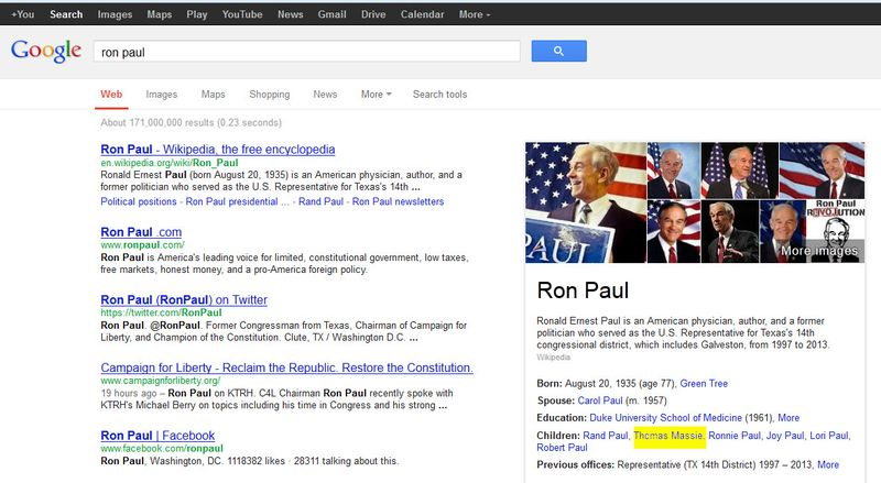 Ron paul profile