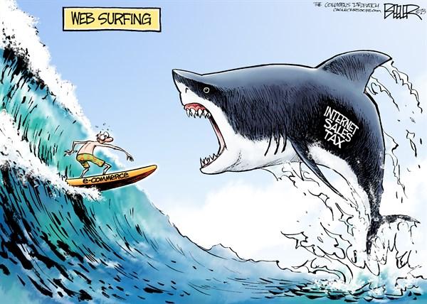 Internet Sales Tax shark