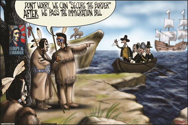 Native Americans Secure The Border