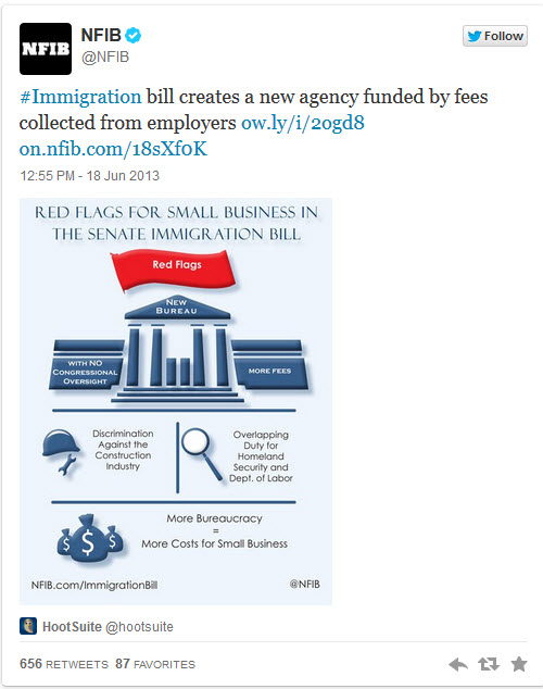 Immigration bill costs