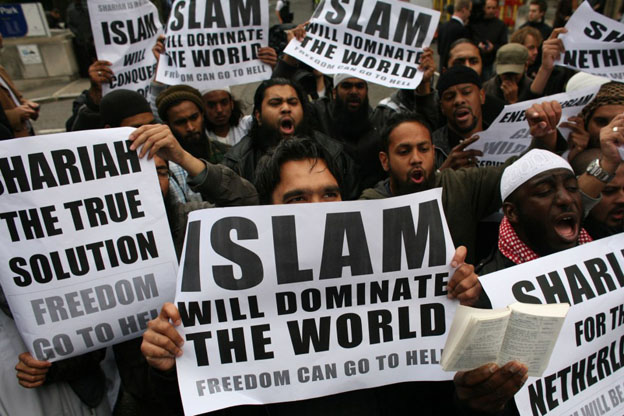 Muslims Want To Dominate The World