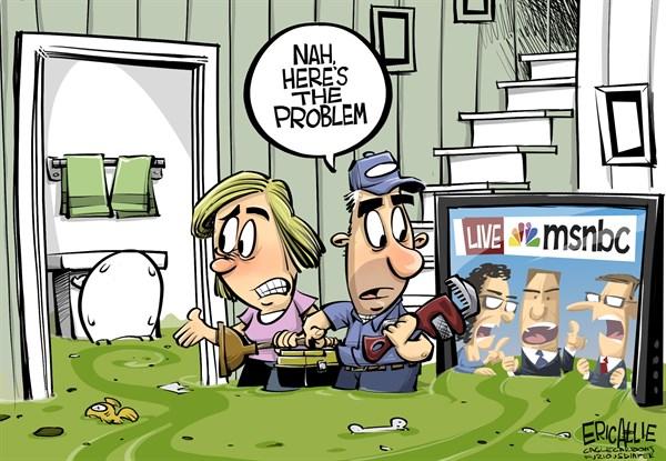 MSNBC sewage