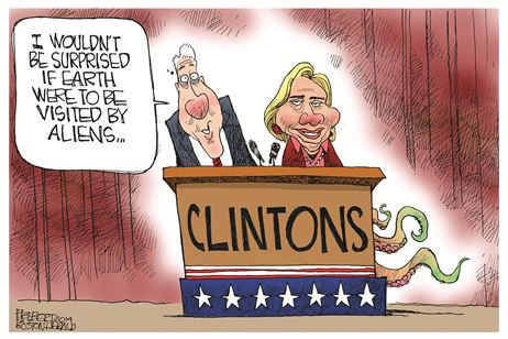 Clinton aliens