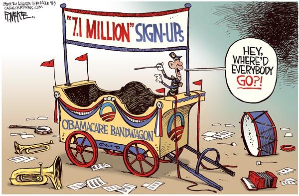Obamacare bandwagon