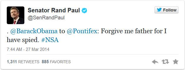 Paul tweet