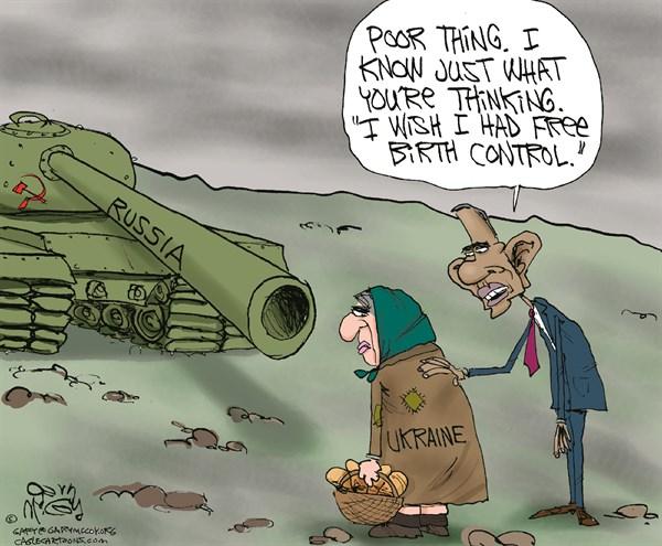 Obtuse Obama Ukraine