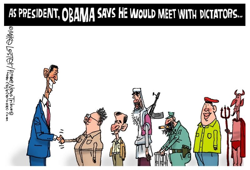 uhh add stupid comment obama campaign trail iran pose threat